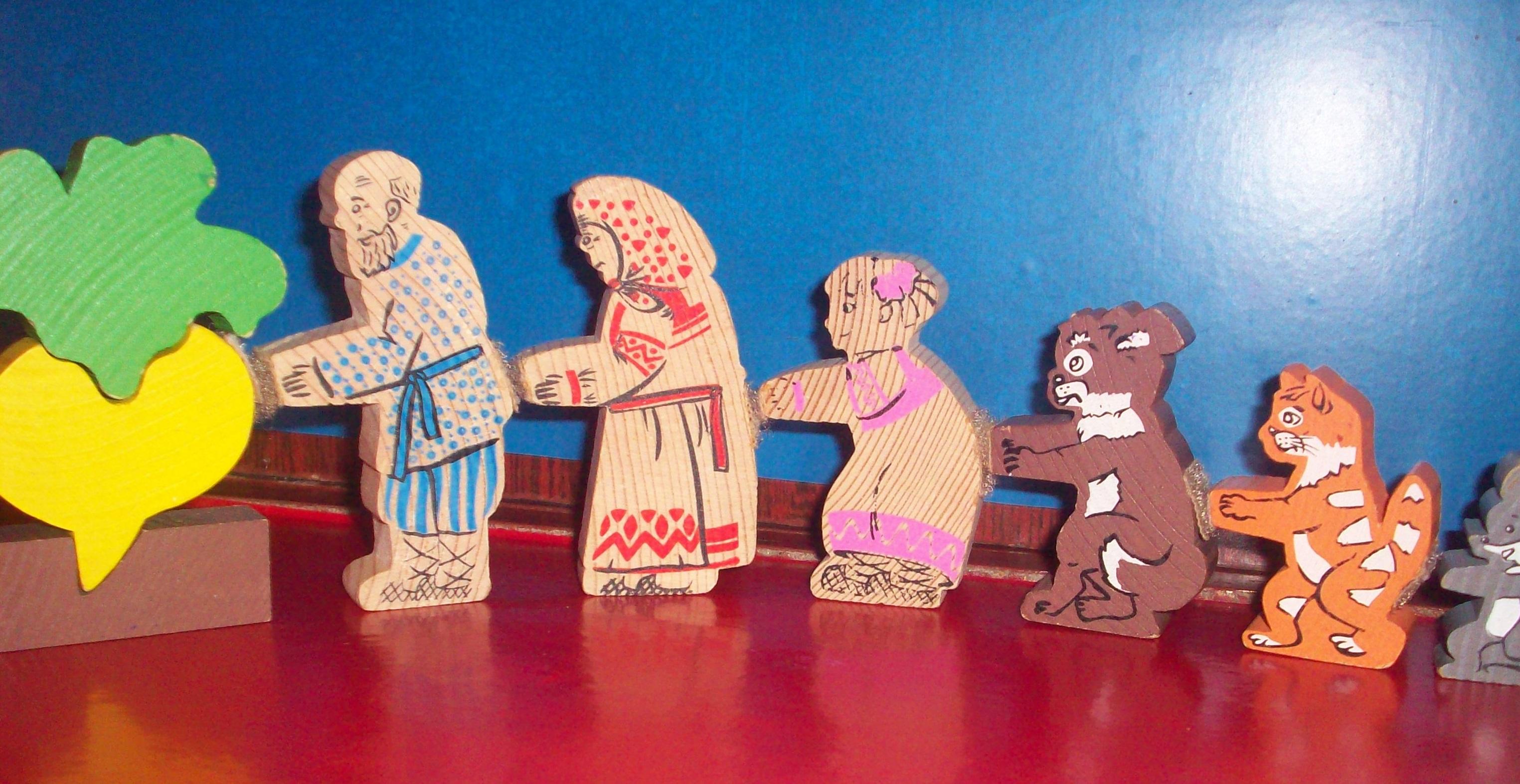 Настольный кукольный театр своими руками фото